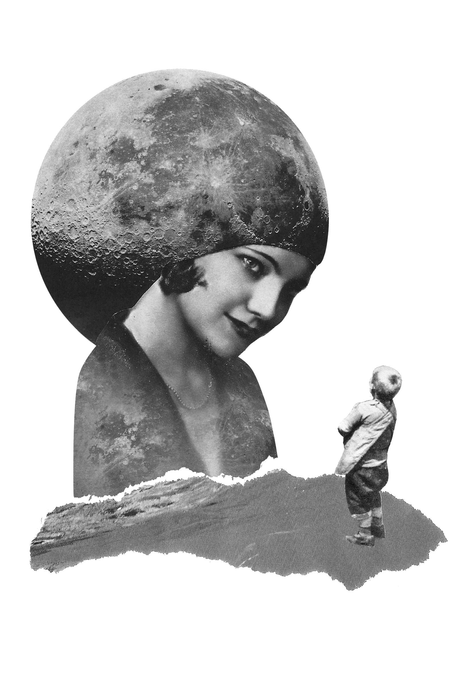 Aurora Gorrion-Romance de la luna, luna
